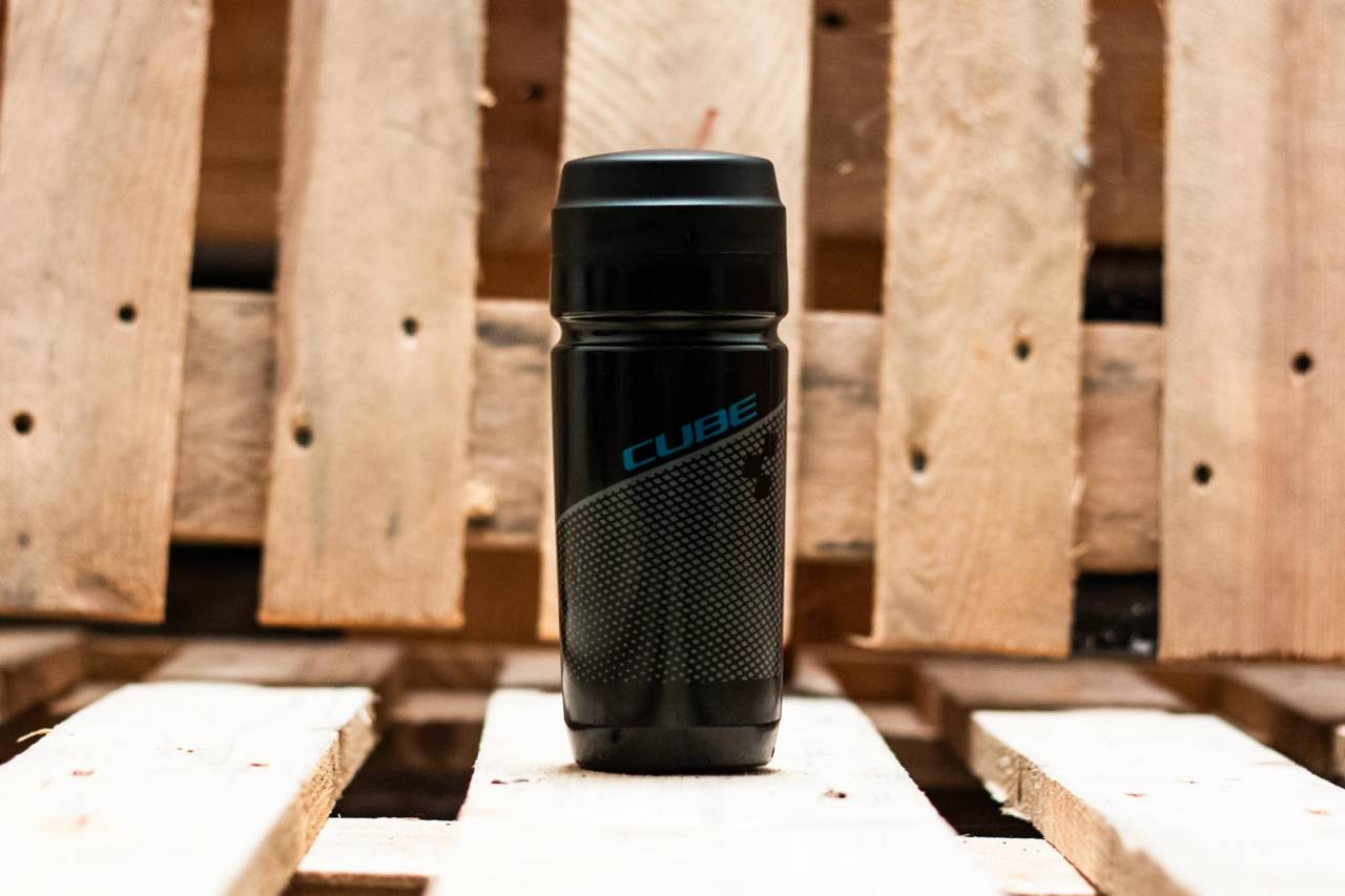 Cube Werkzeugflasche 0,6l black n grey n blue
