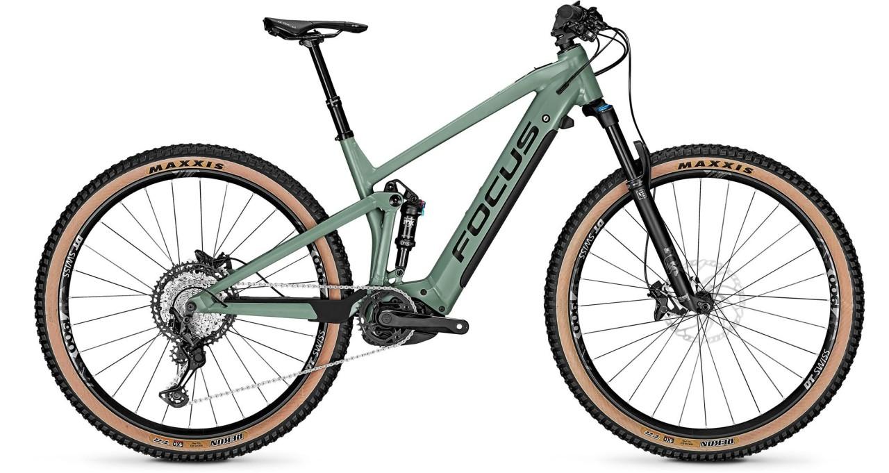 Focus Thron2 6.9 Mineral Green 2021 - E-Bike Fully Mountainbike