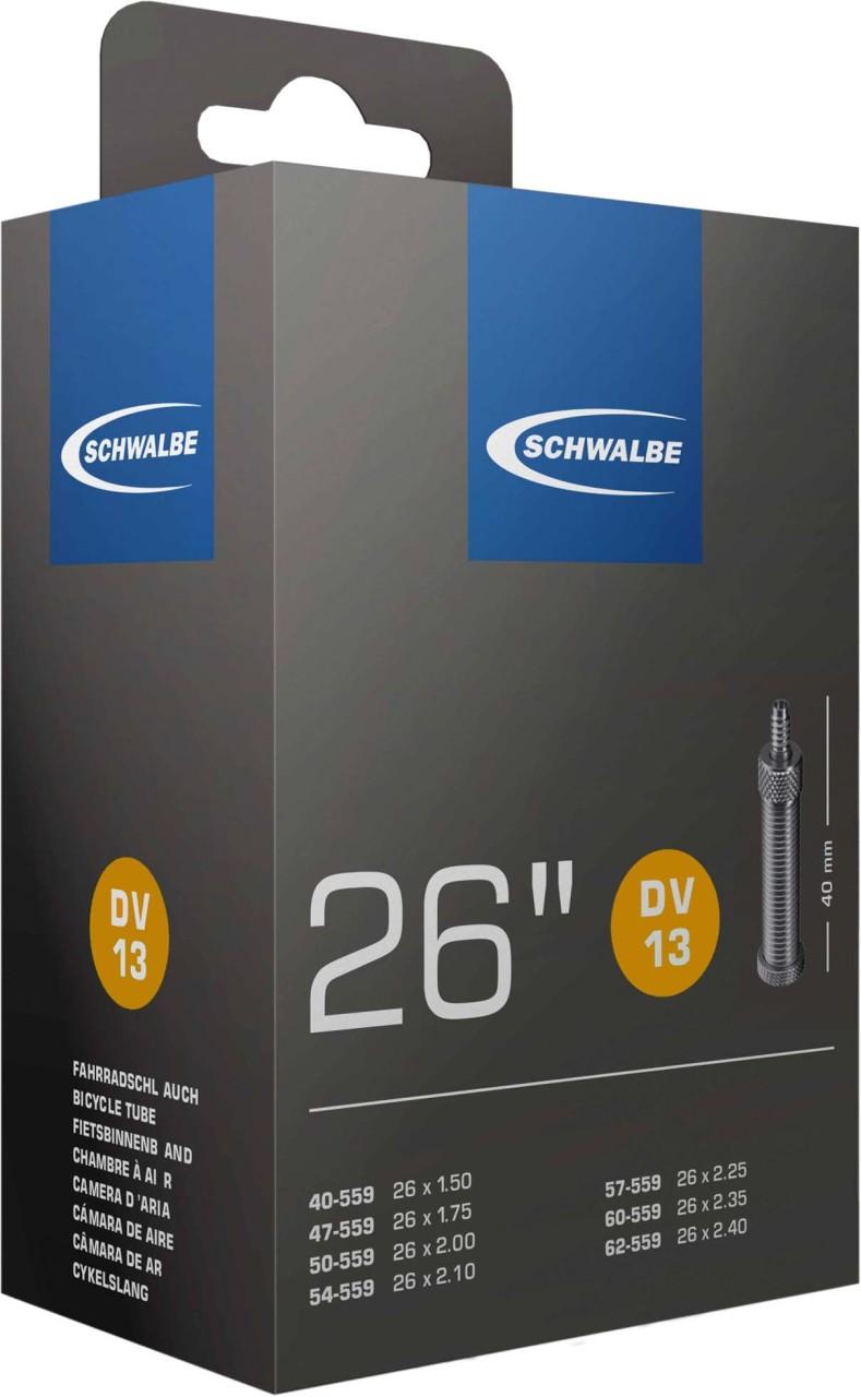 "Schwalbe Schlauch 26x1.5-2.5 S DV13, Nr. 13 (26"")"