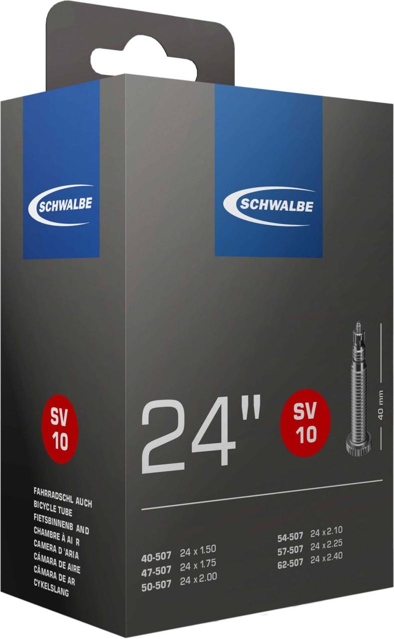 Schwalbe Schlauch 24x1.75-2.50 S SV10 40 mm 47/62-507