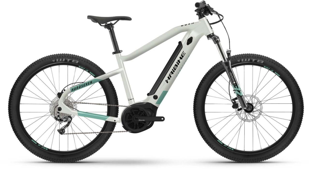 Haibike HardSeven 5 500Wh honey/teal matte 2021 - E-Bike Hardtail Mountainbike