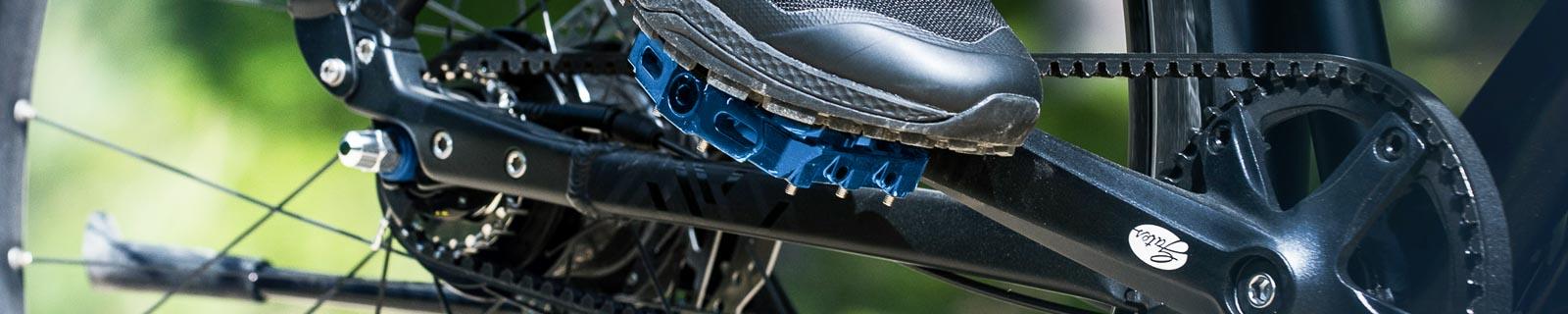 Pedale, die Verbindung zwischen Mensch und Bike