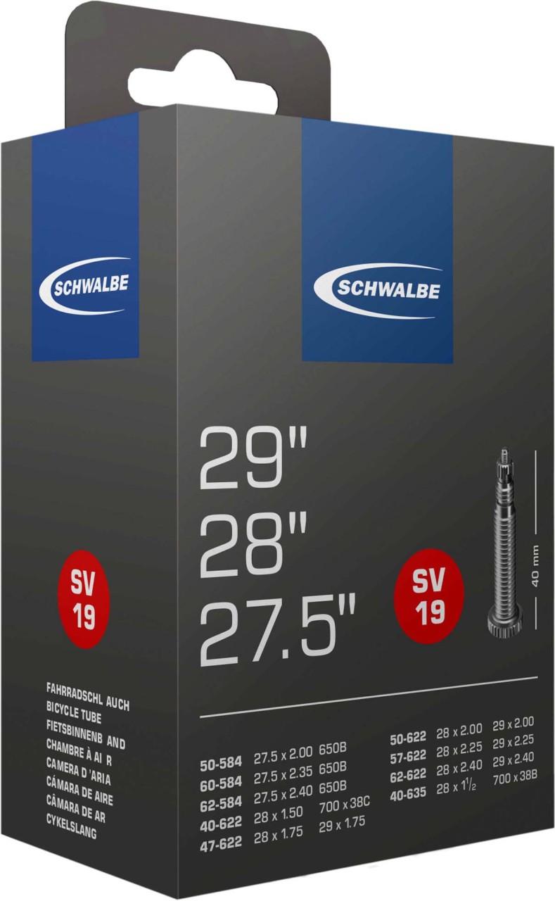 """Schwalbe Schlauch 27/28x1.5-2.4 S SV19 (27.5""""/28""""/29"""")"""