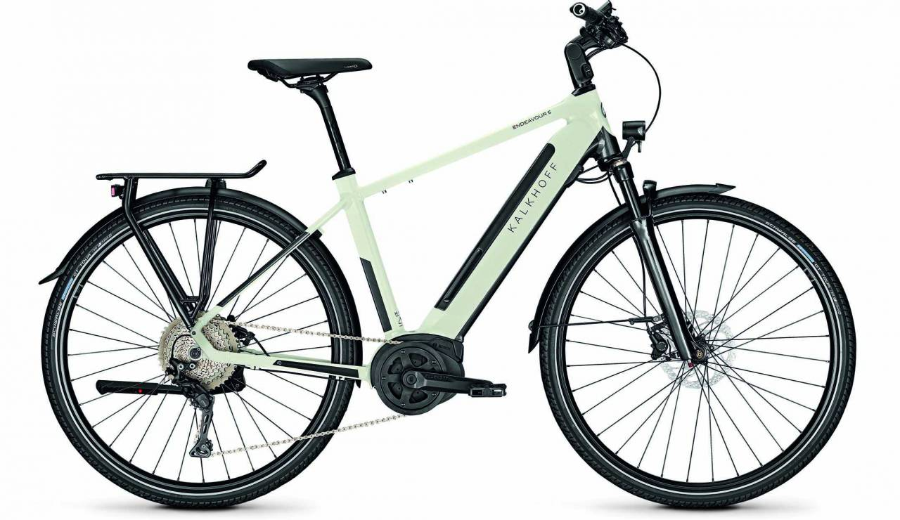 Kalkhoff Endeavour 5.B Advance diamondblack/starwhite glossy (Diamond) 2020 - E-Bike Trekkingrad Her