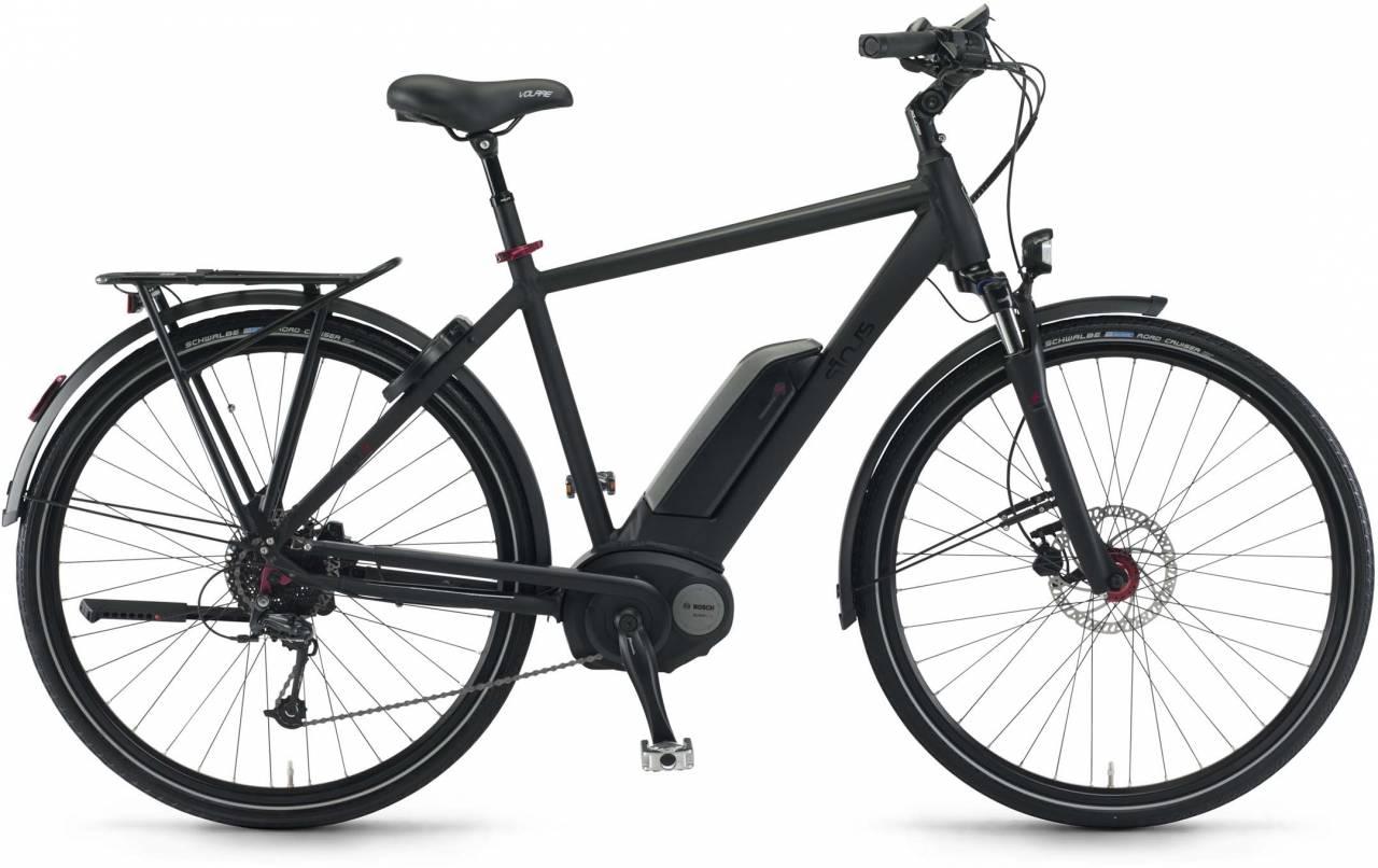 """Sinus Tria 9 500Wh 28"""" schwarz matt 2017 - Herren E-Bike Trekkingrad"""