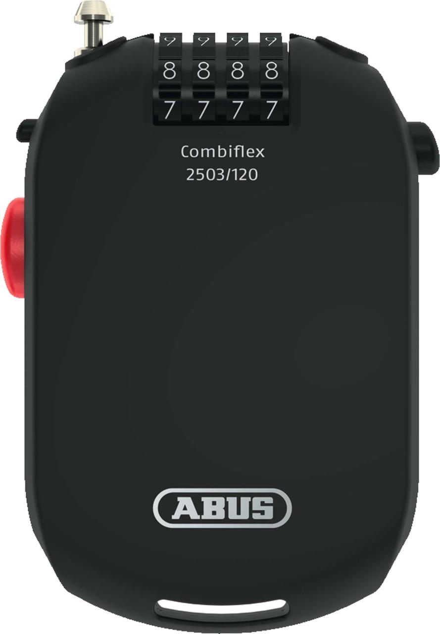 Abus Spezialsicherung Combiflex 2503/120 schwarz 120 cm