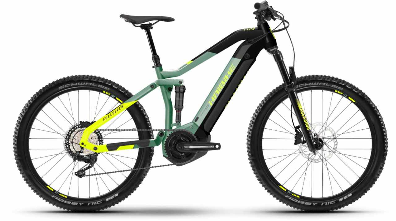 Haibike FullSeven 6 i630Wh defender/black 2021 - E-Bike Fully Mountainbike