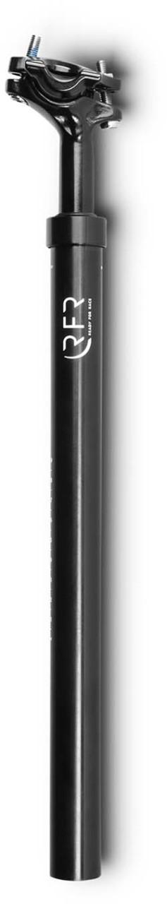 RFR gefederte Sattelstütze (80 - 120 kg) black - 31.6 mm x 400 mm