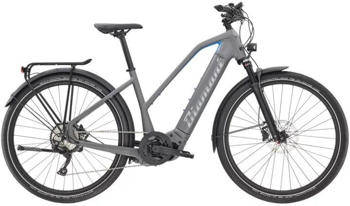 Diamant Zouma Deluxe+ Gor Graphitgrau/Apatit 2021 - E-Bike Trekkingrad Damen