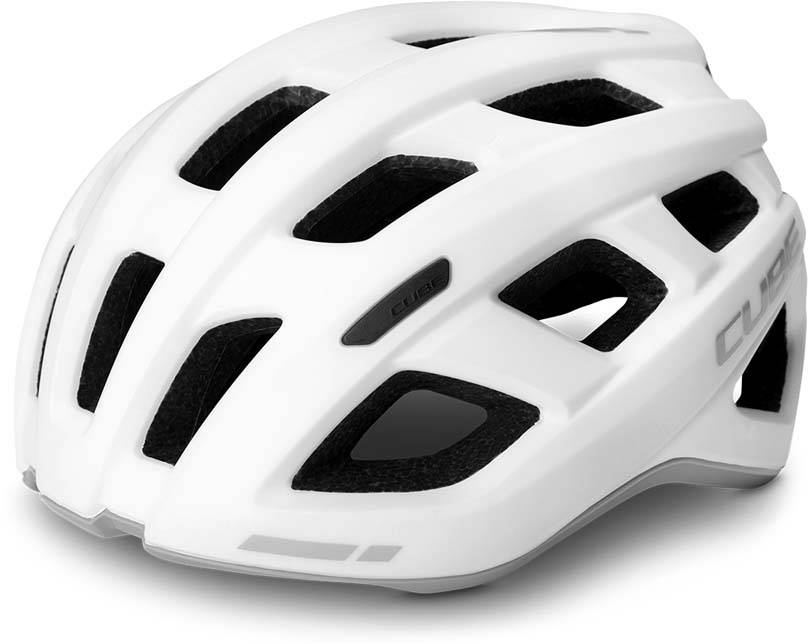 Cube Helm ROAD RACE white n grey