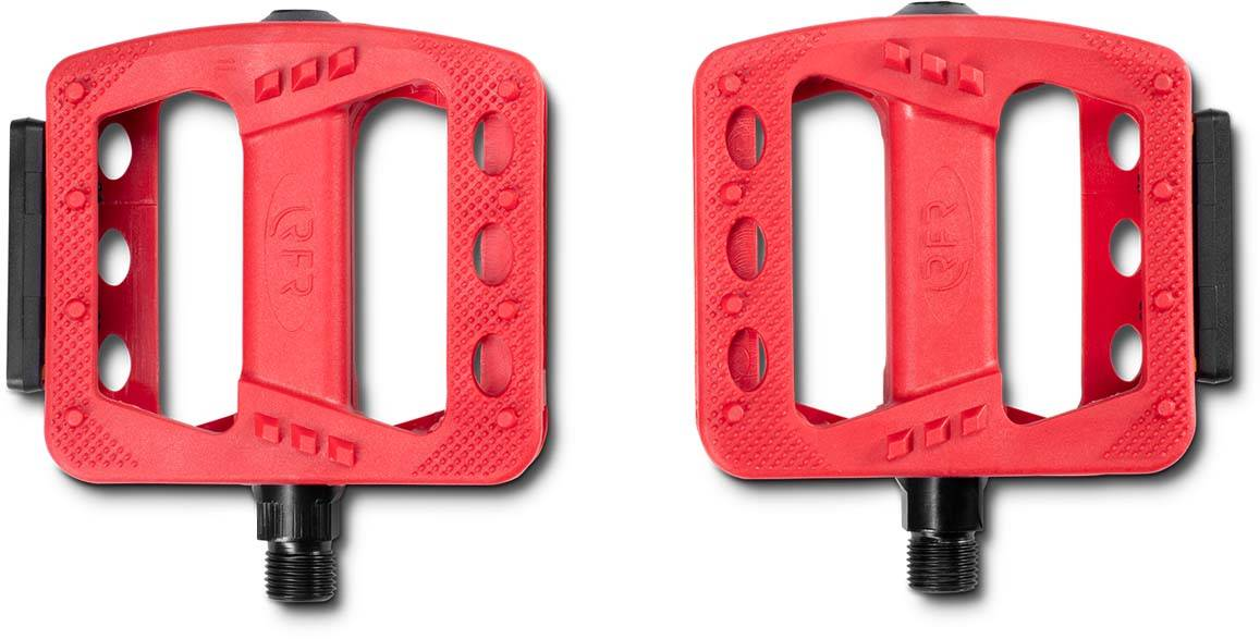 RFR Pedale Flat HQP CMPT red