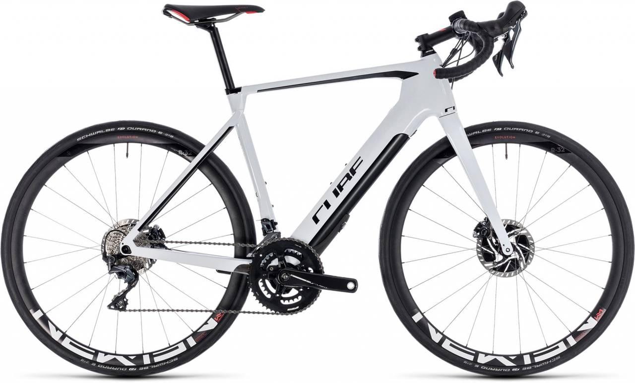Cube Agree Hybrid C:62 SL Disc white n black 2018 - E-Bike Rennrad