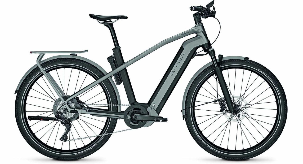 Kalkhoff Endeavour 7.B Advance magicblack/jetgrey matt (Diamond) 2021 - E-Bike Trekkingrad Herren