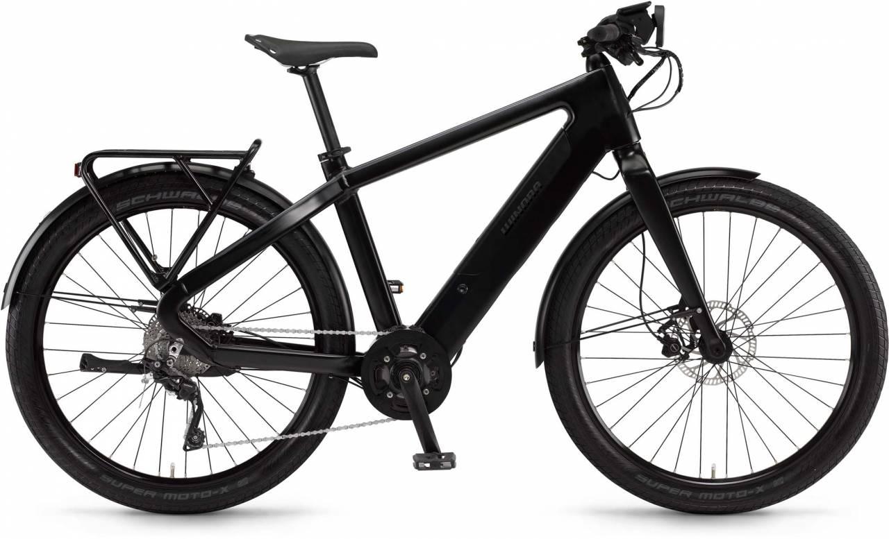 """Winora radar tour 500Wh 27.5"""" schwarz/schiefer matt 2017 - Herren E-Bike Fitnessrad"""