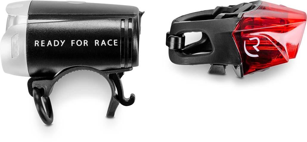 RFR Beleuchtungsset Tour 35 USB Strap black