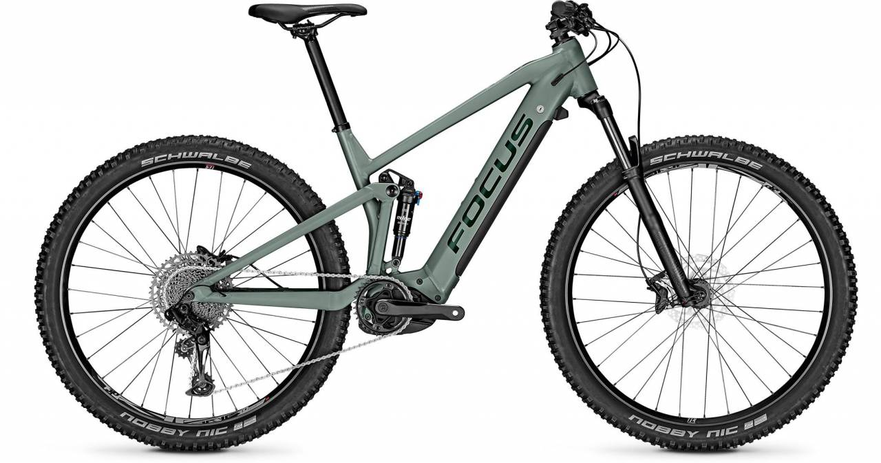 Focus Thron2 6.7 Mineral Green 2021 - E-Bike Fully Mountainbike