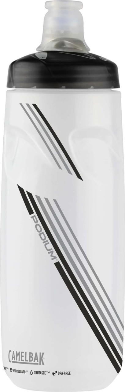 Trinkflasche Podium 620ml Clear Carbon