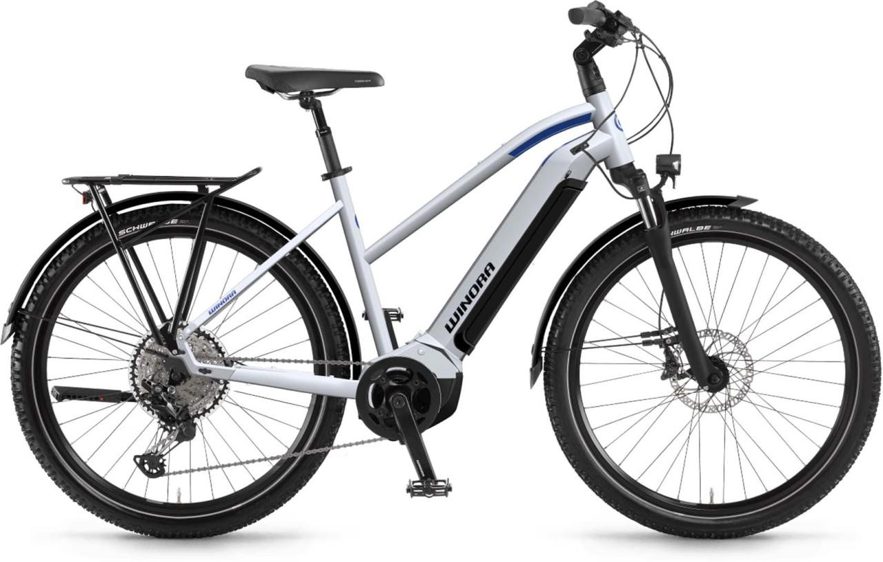 Winora Yucatan 12 i630Wh winterwhite 2021 - E-Bike Trekkingrad Damen