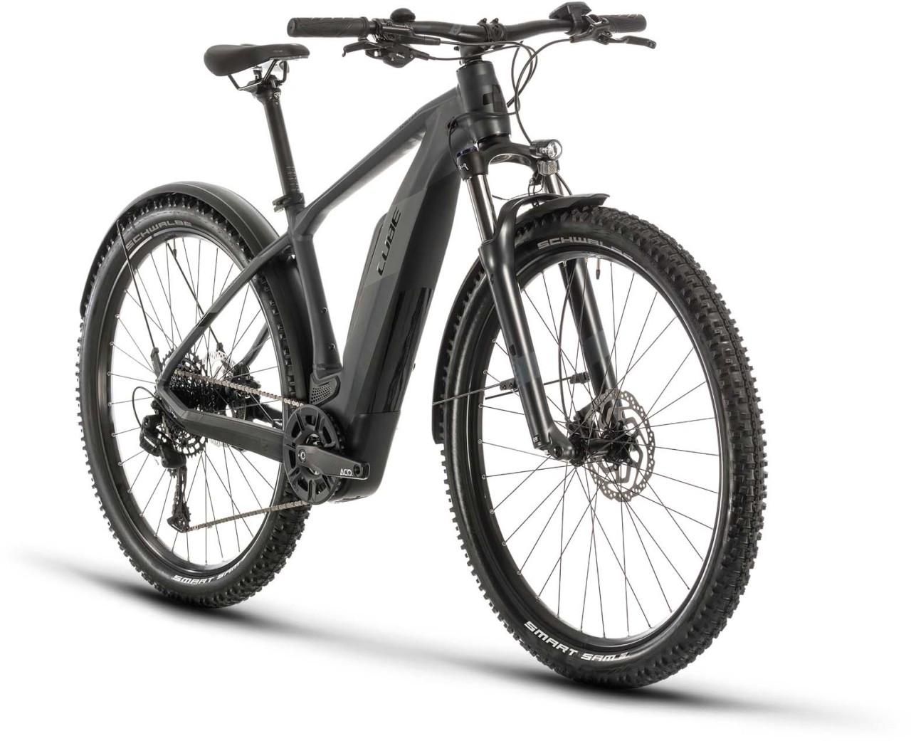 Cube Reaction Hybrid Pro 500 Allroad iridium n black 2020 - E-Bike Hardtail Mountainbike