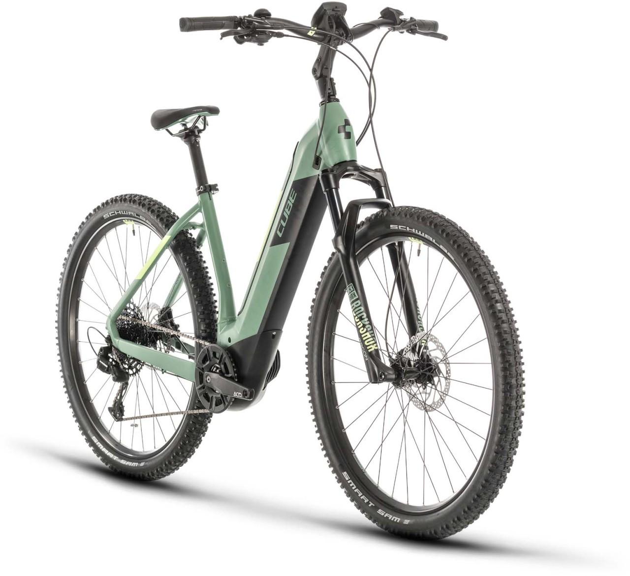 Cube Nuride Hybrid EXC 625 green n sharpgreen 2020 - E-Bike Hardtail Mountainbike