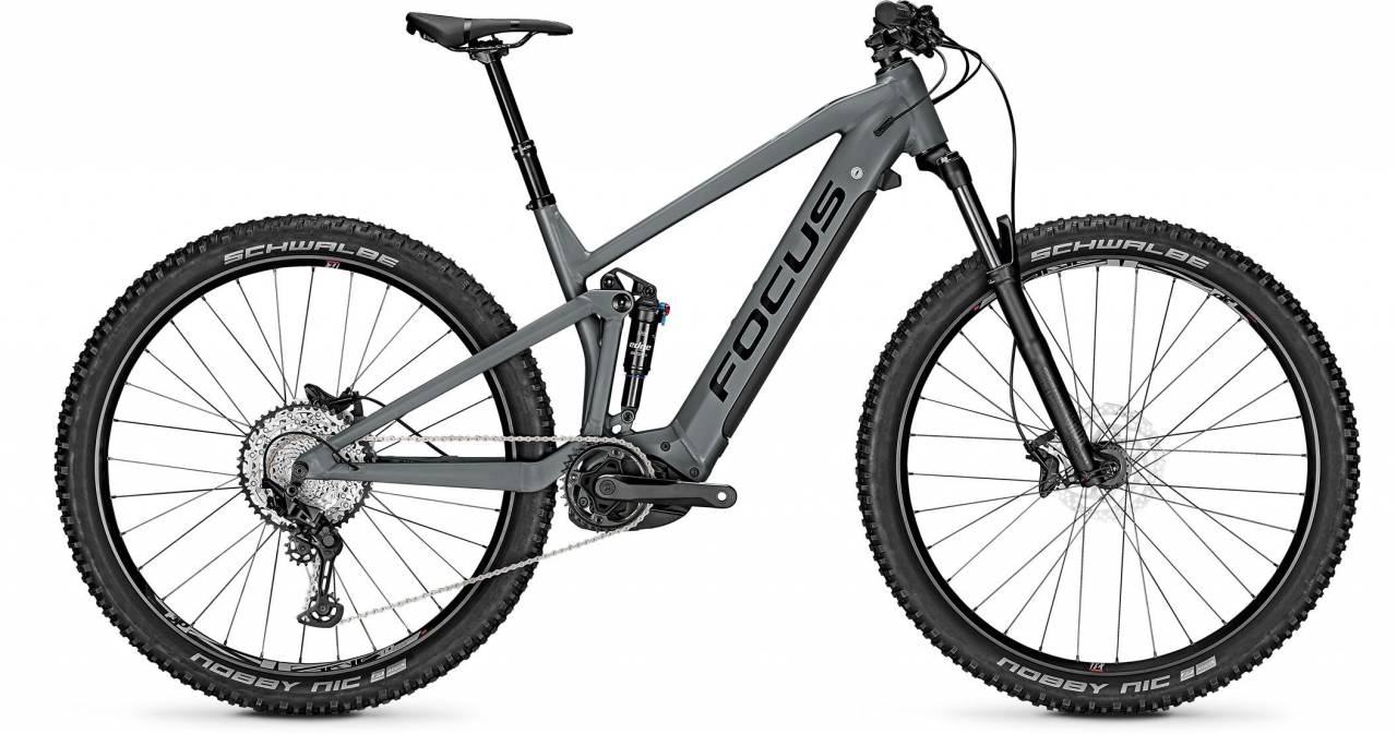 Focus Thron2 6.8 Slate Grey 2021 - E-Bike Fully Mountainbike