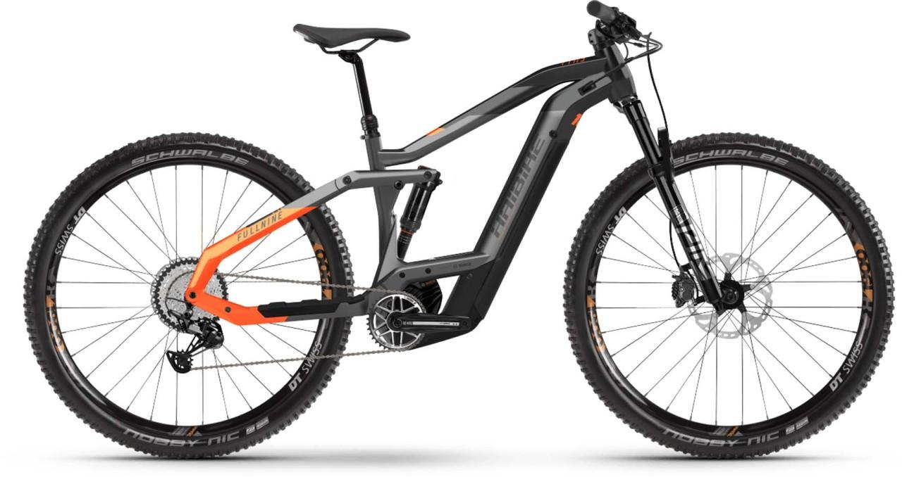 Haibike FullNine 10 i625Wh titan/black/lava matte 2021 - E-Bike Fully Mountainbike