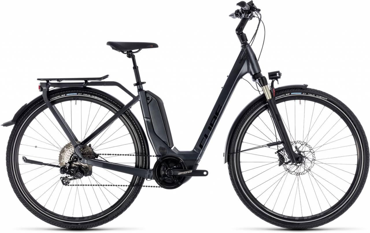 Cube Touring Hybrid SL 500 iridium n red 2018 - Tiefeinsteiger E-Bike Trekkingrad