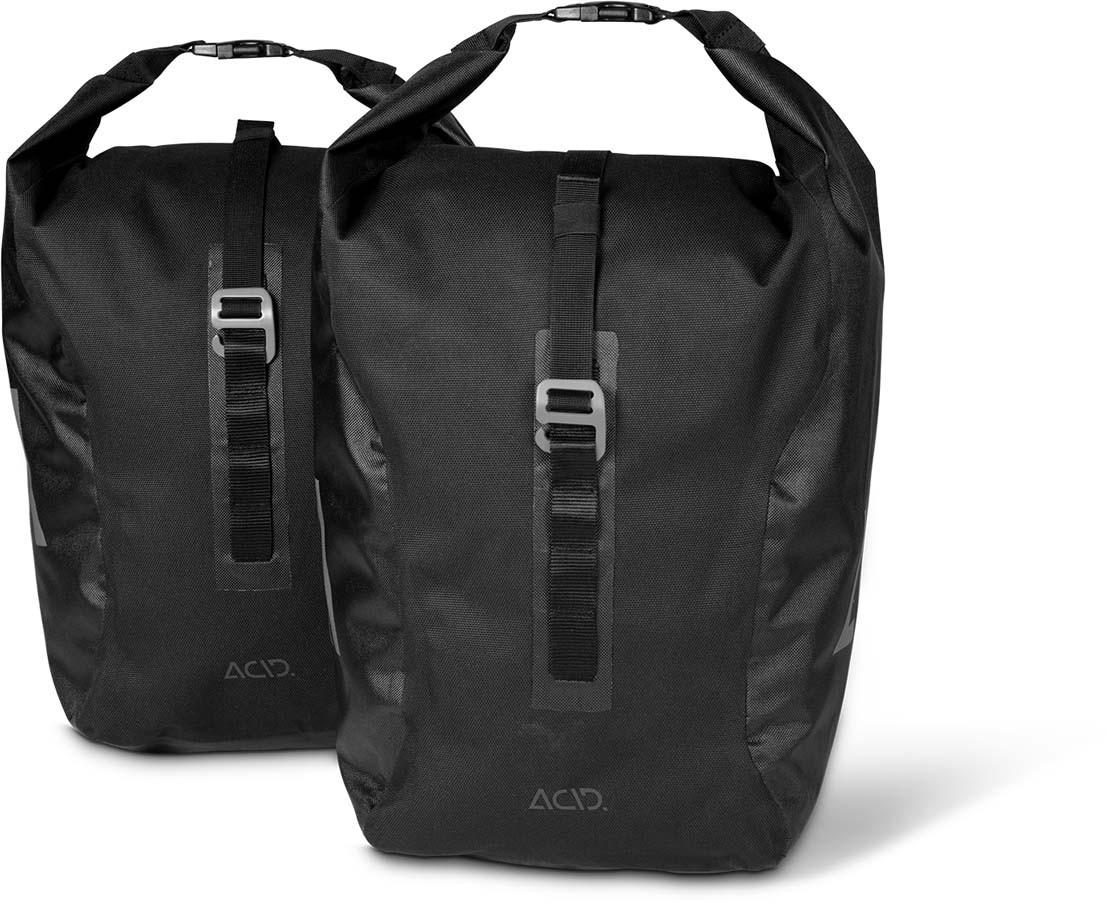 ACID Fahrradtasche TRAVLR 20/2 black