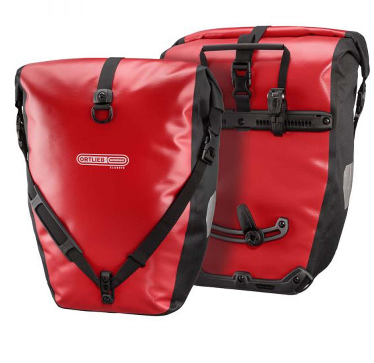 Ortlieb Back-Roller Classic Fahrradtasche, red-black