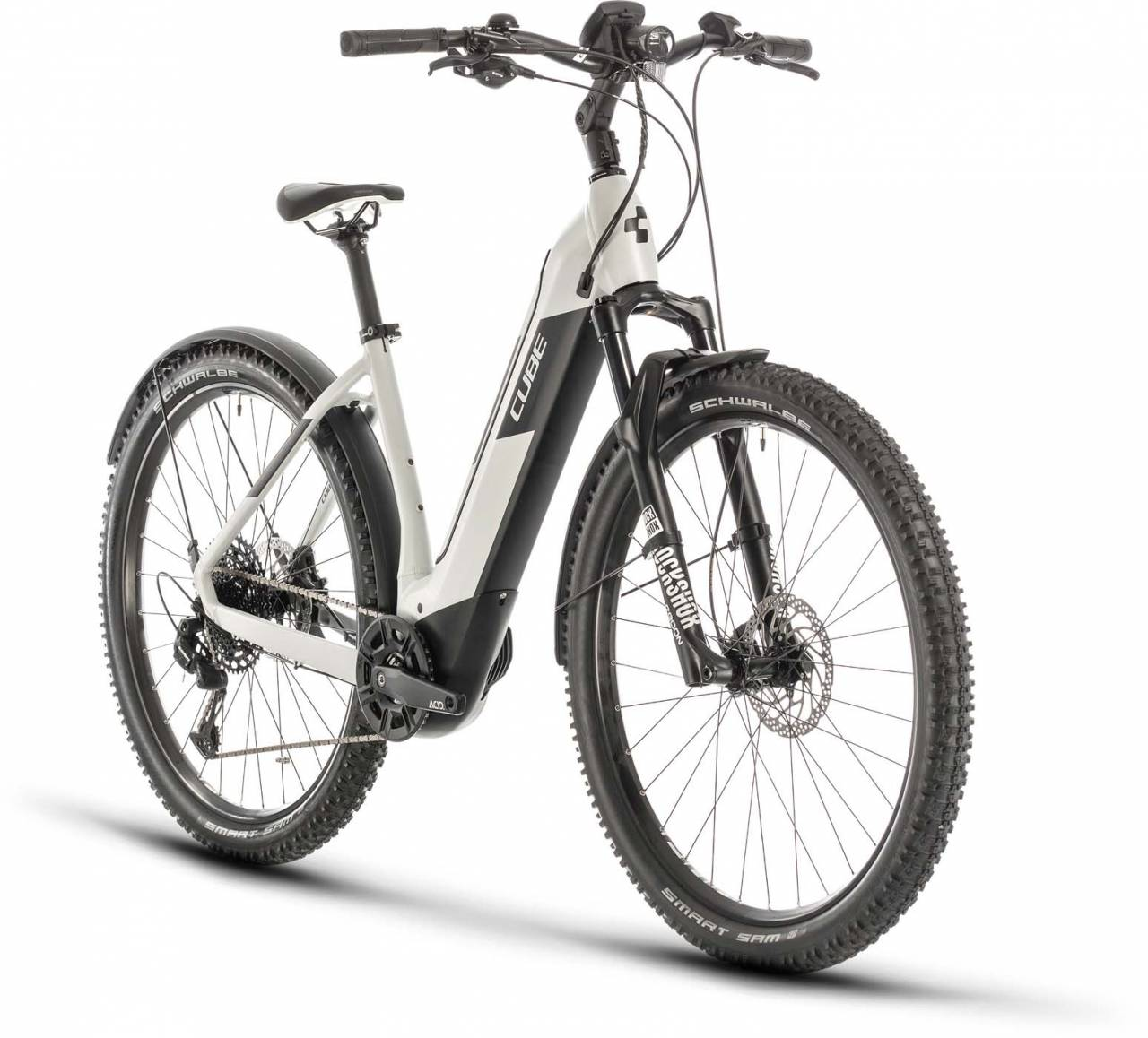 Cube Nuride Hybrid EXC 625 Allroad grey n black 2020 - E-Bike Hardtail Mountainbike