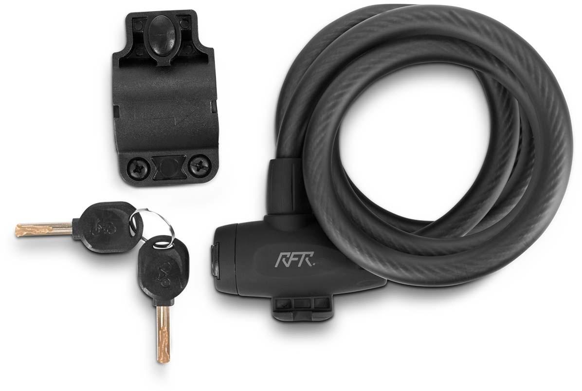 RFR Spiralschloss HPP 12 x 1500 mm black n grey