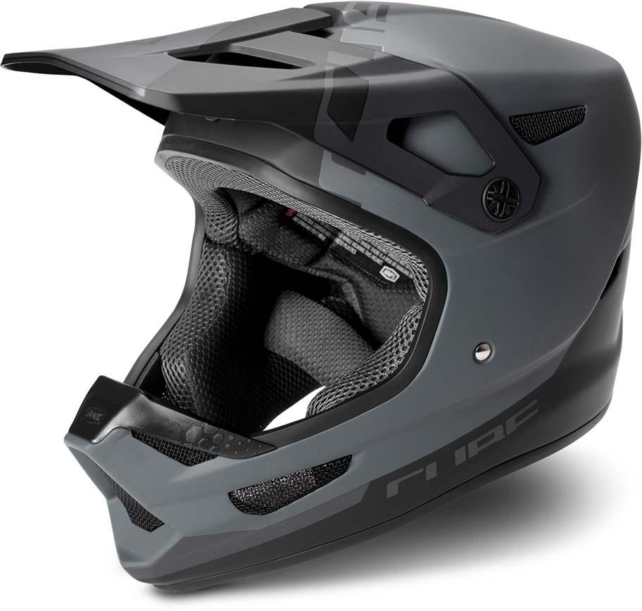 Cube Helm STATUS X 100% black