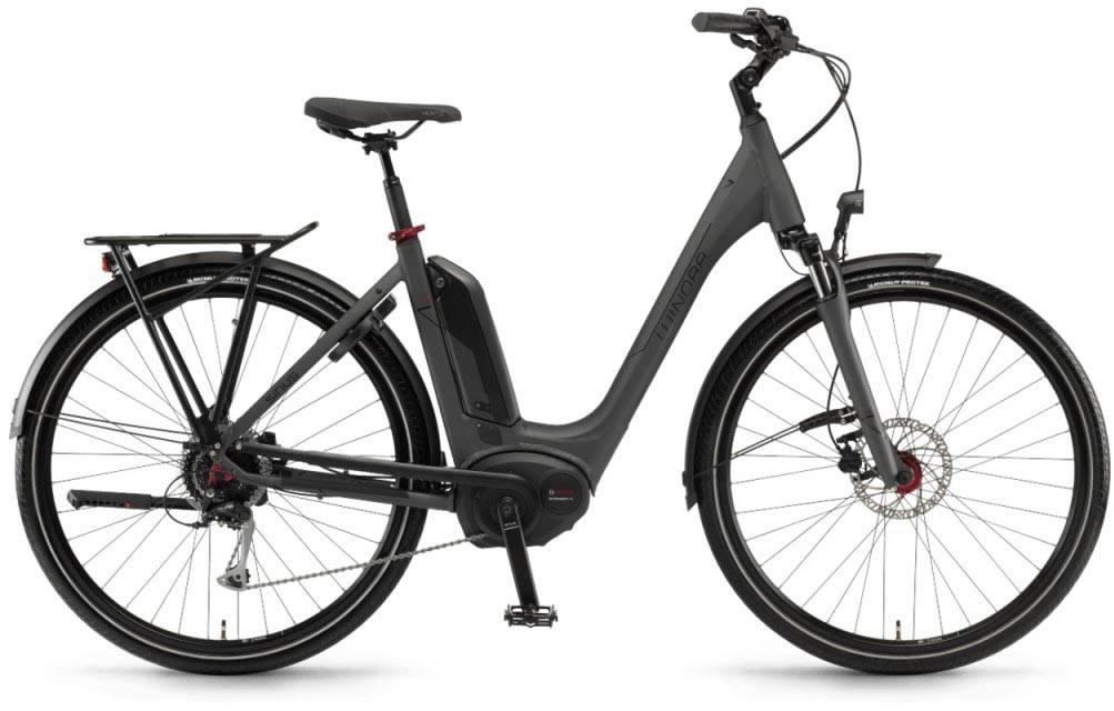 """Winora Tria 9 500Wh 28"""" mysterypearl matt 2018 - Tiefeinsteiger E-Bike Trekkingrad"""