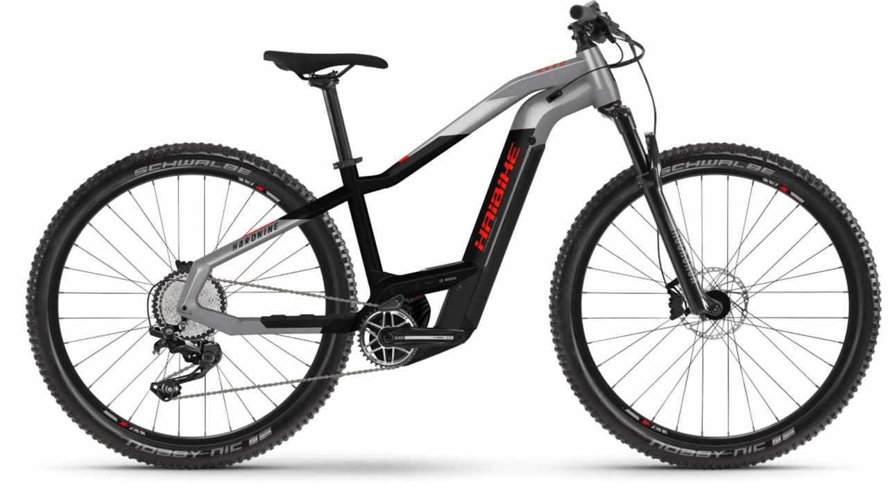 Haibike HardNine 9 i625Wh urban grey/black 2021 - E-Bike Hardtail Mountainbike