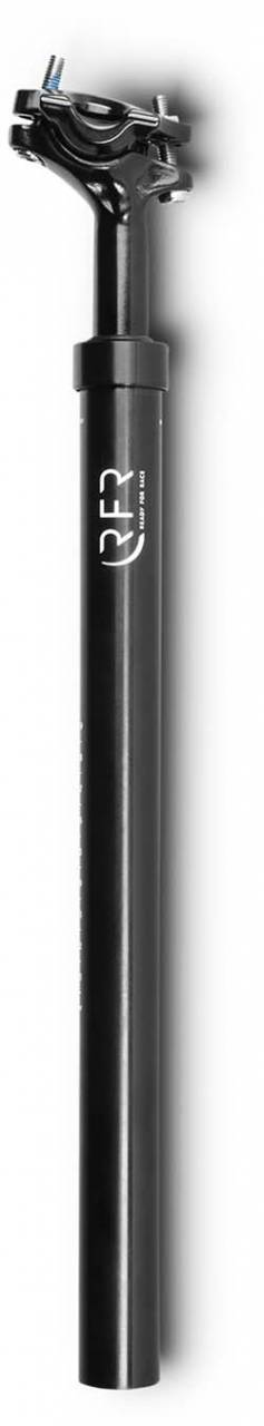 RFR gefederte Sattelstütze (80 - 120 kg) black - 27.2 mm x 400 mm