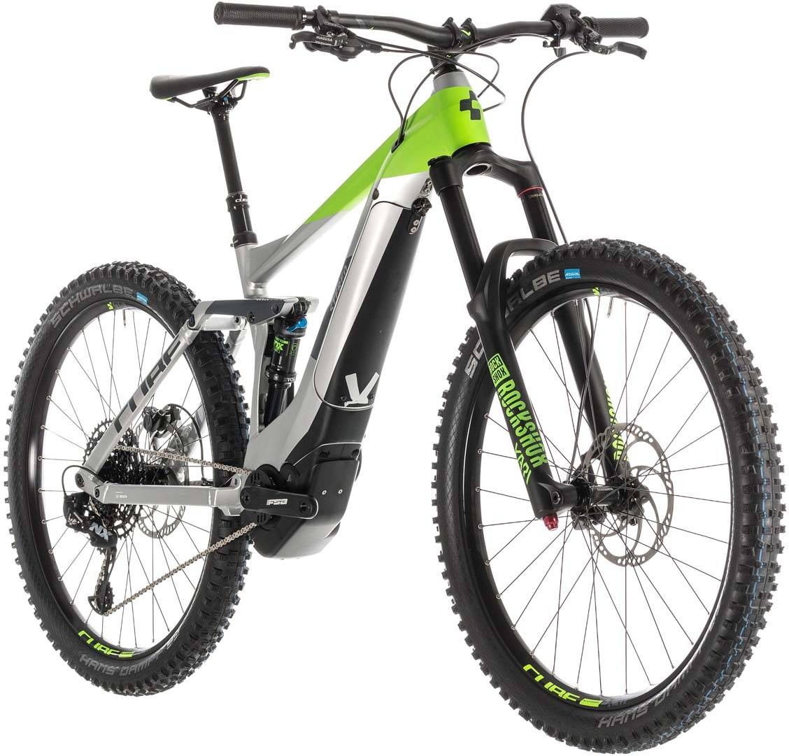 Cube Stereo Hybrid 160 Race 500 27.5 grey n green 2019