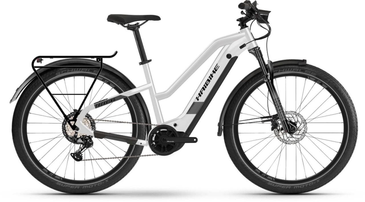 Haibike Trekking 8 i630Wh sparkling white 2021 - E-Bike Trekkingrad Damen