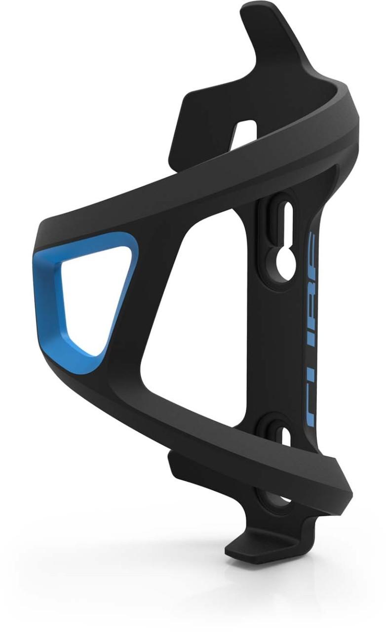 Cube Flaschenhalter HPP Left-Hand Sidecage black n blue