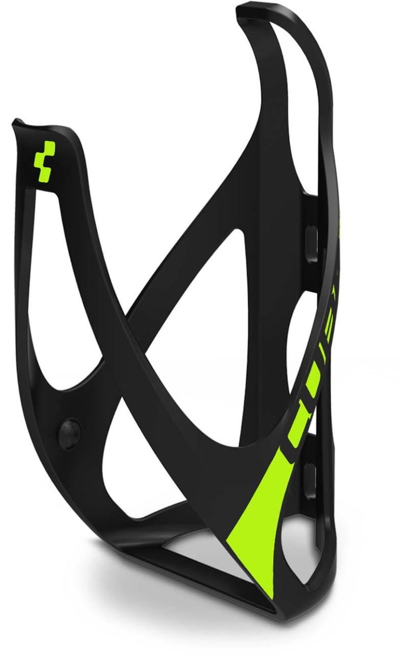 Cube Flaschenhalter HPP matt black n classic green