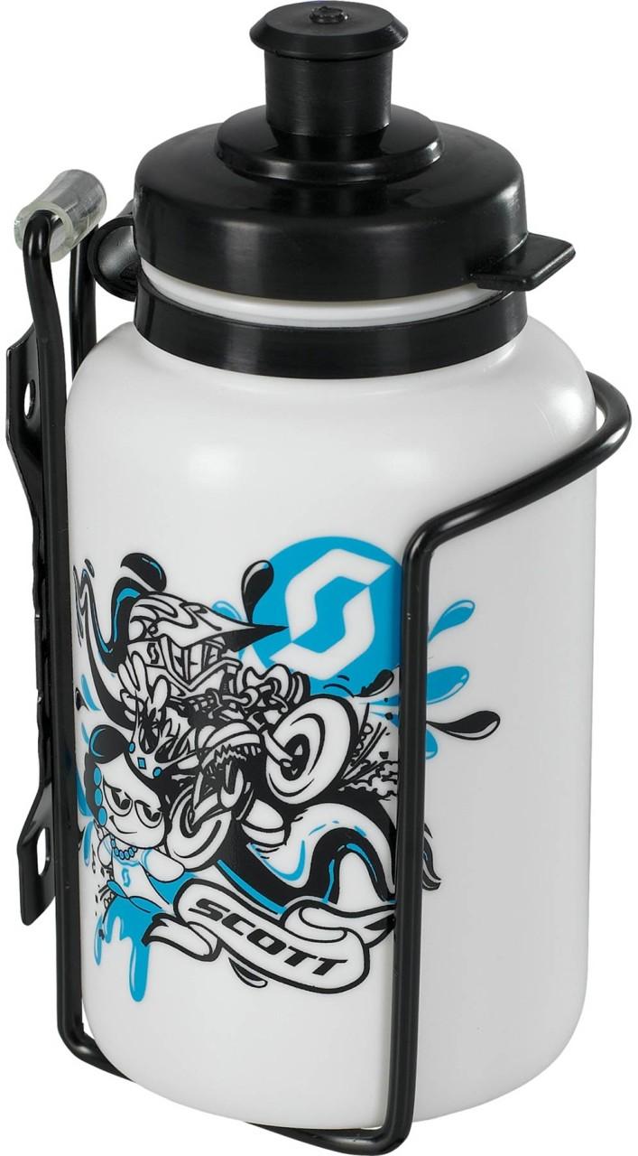 Scott Junior-Kit (Wasserflasche 0,3l + Flaschenhalter)