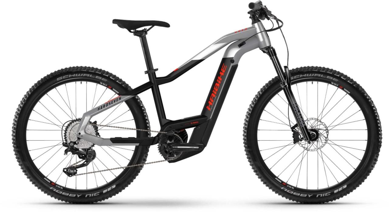 Haibike HardSeven 9 i625Wh urban grey/black 2021 - E-Bike Hardtail Mountainbike