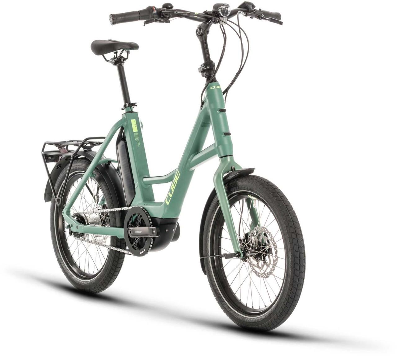 "Cube 20"" Compact Hybrid green n green 2020"