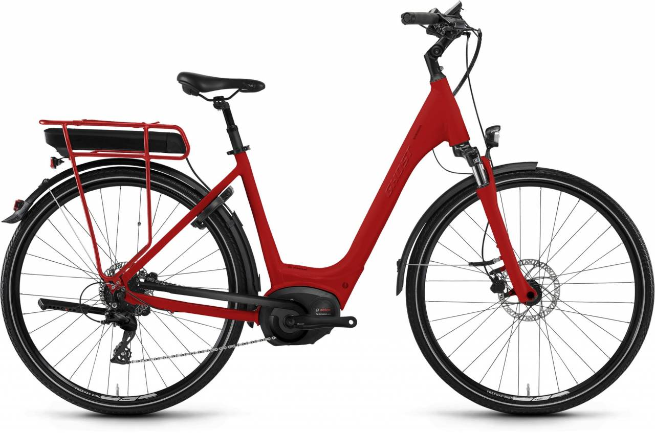 Ghost Hybride Square Wave B8.8 AL 2018 - Tiefeinsteiger E-Bike Trekkingrad
