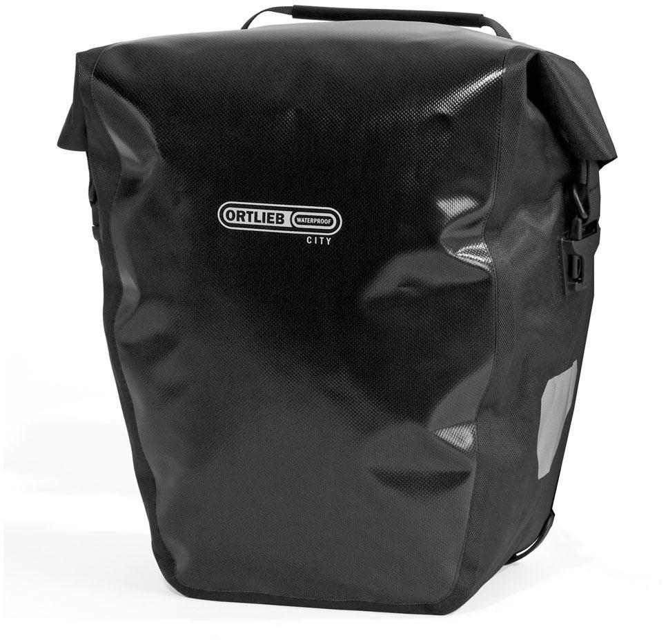 Ortlieb Back-Roller City (Paar) Hinterradtasche schwarz