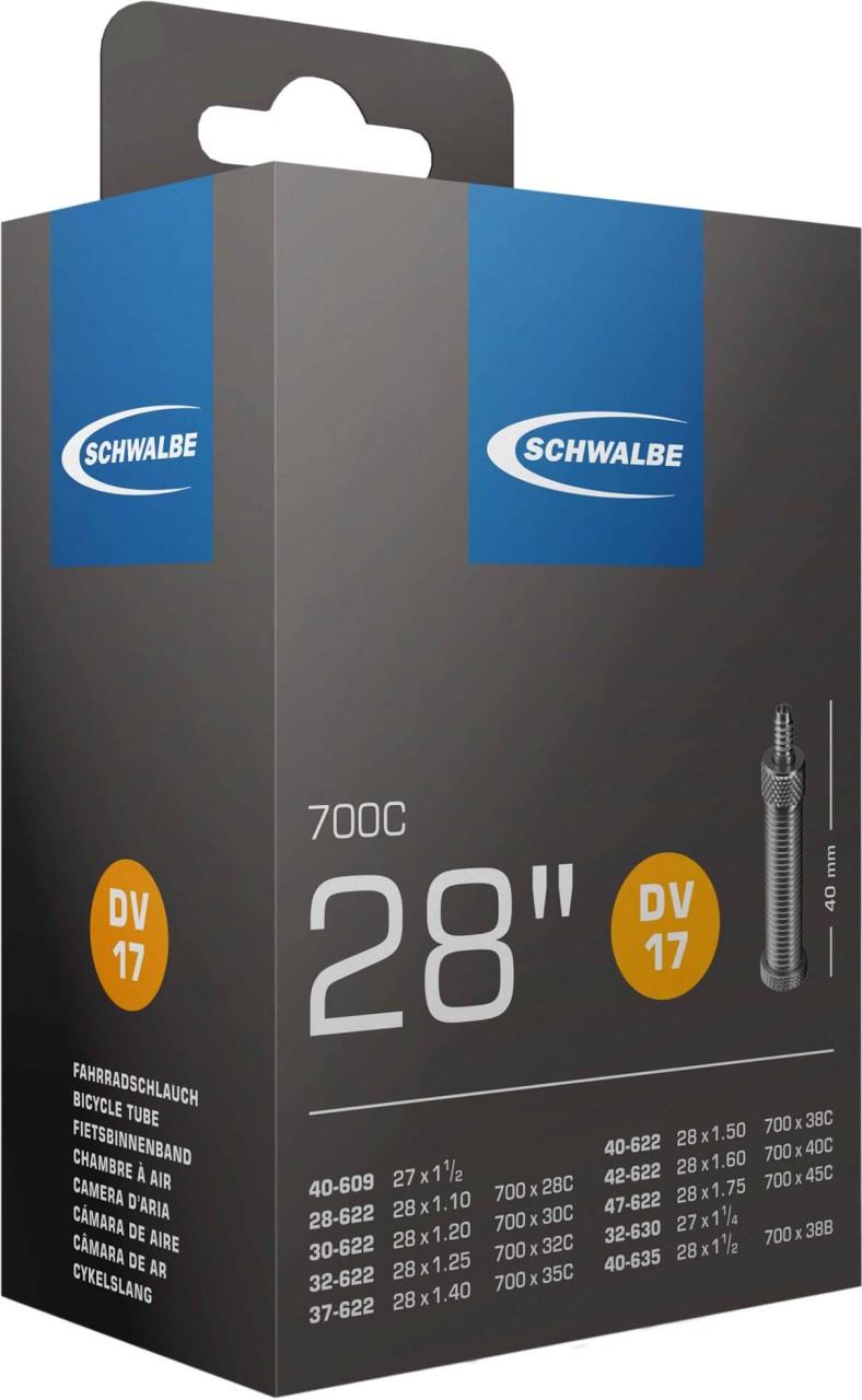 "Schwalbe Schlauch Nr. 17 DV (28""/700C)"