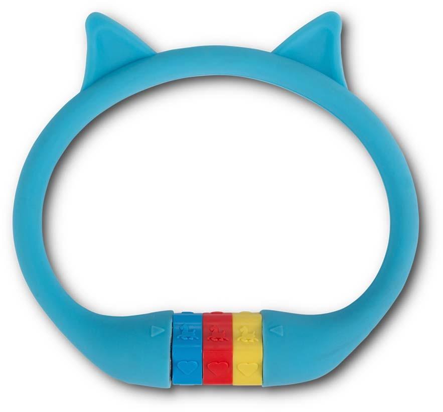 "RFR Zahlenkabelschloss HPS ""CAT"" 10 x 350 mm blue"