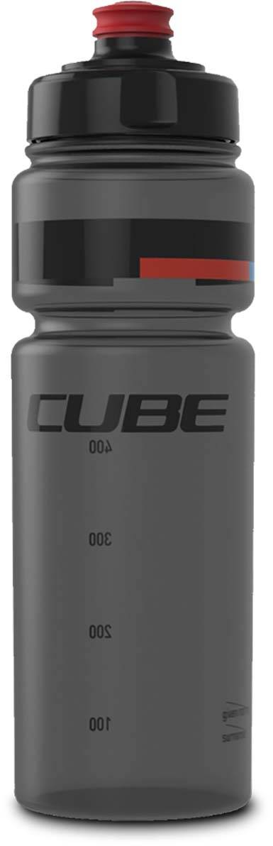 Cube Trinkflasche 0,75l TEAMLINE black n red n blue