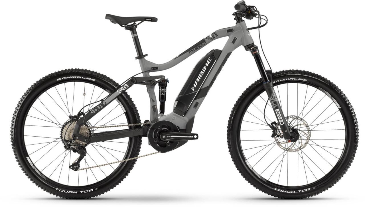 Haibike SDURO FullSeven LT 3.0 500Wh grau/schwarz/weiß matt 2019