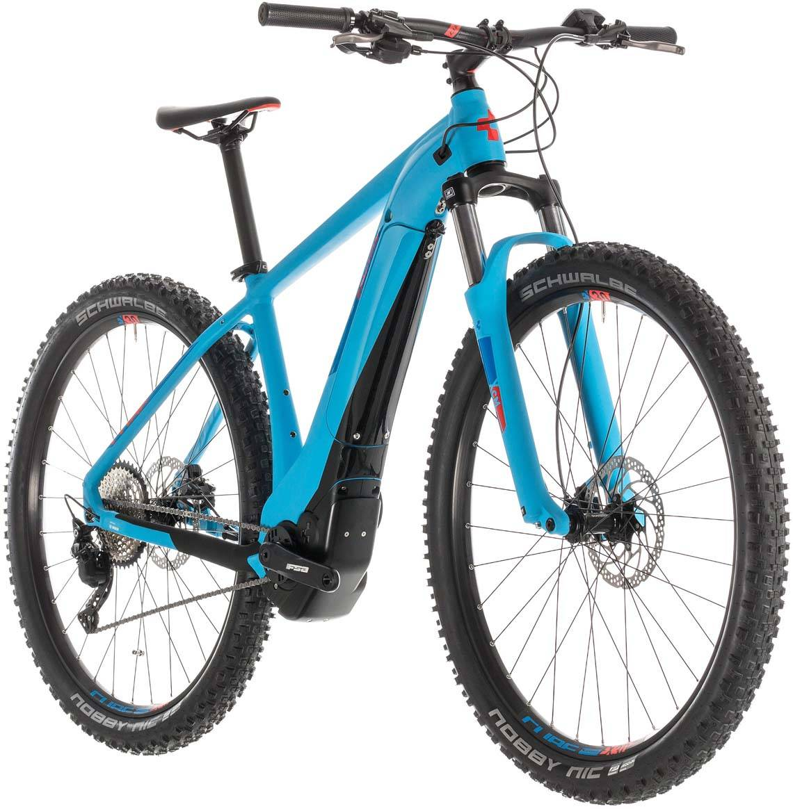 Cube Reaction Hybrid EXC 500 blue n red 2019