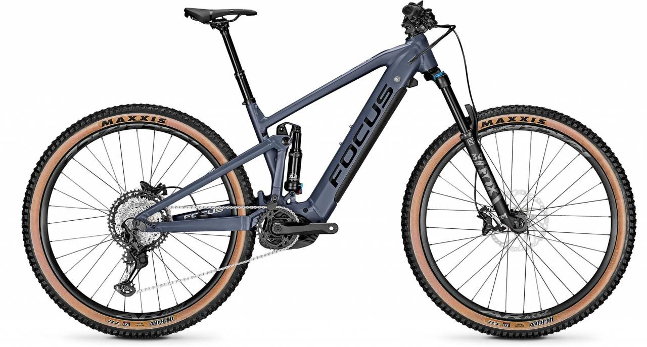 Focus Jam2 6.8 Nine Stone Blue 2021 - E-Bike Fully Mountainbike